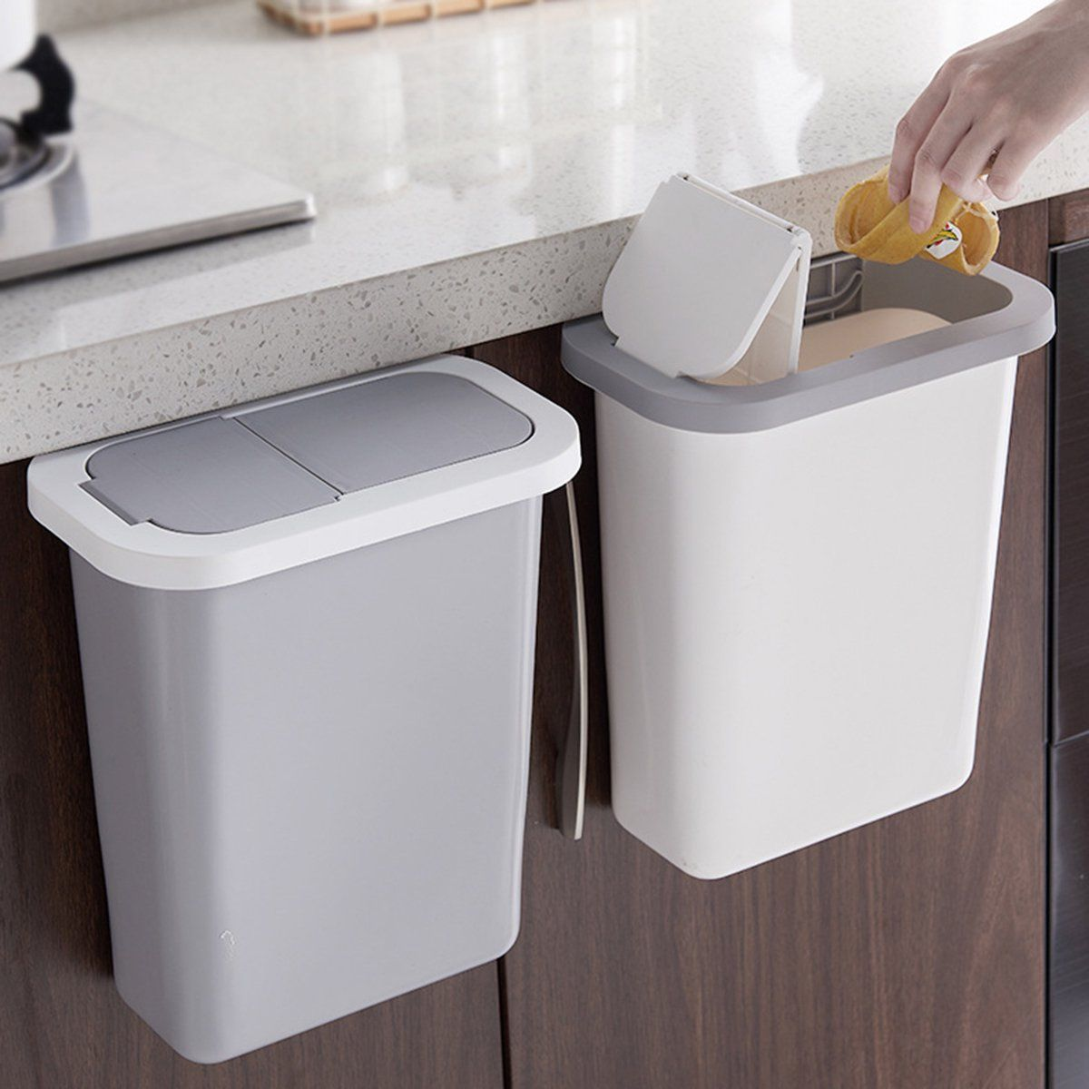 38++ Hanging dustbin for kitchen inspirations