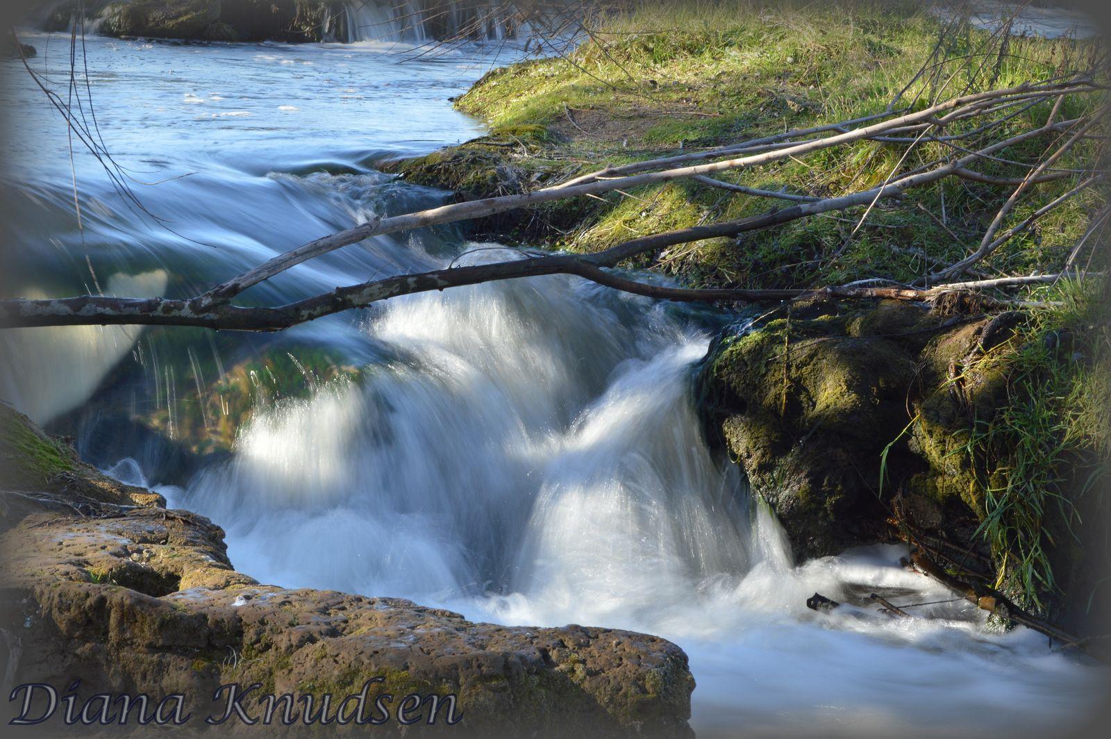 Las Cascadas del rio Quequén