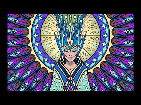 Coloring Tutorial Glowing Lumina From The Lost Book By Cristina McAllister