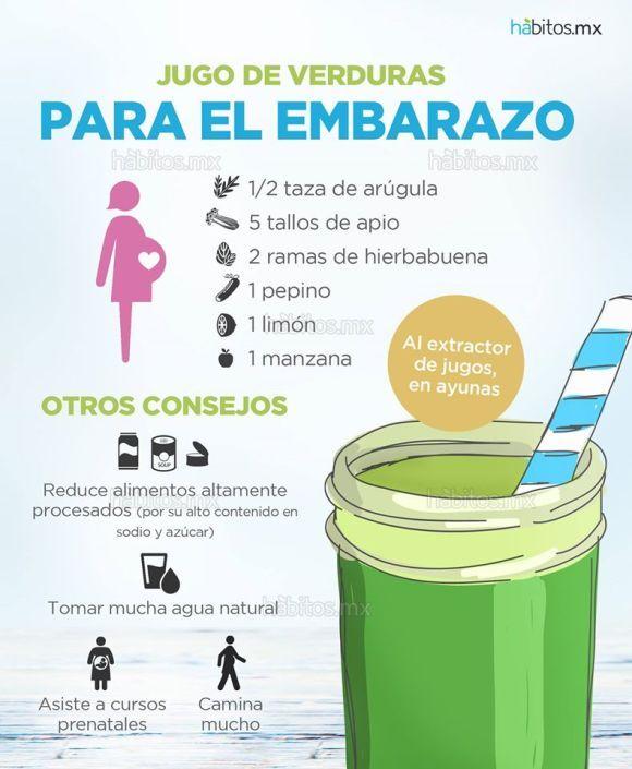 Alimentos con mucho hierro para embarazadas