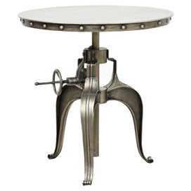 Afton Side Table - metal - so cool