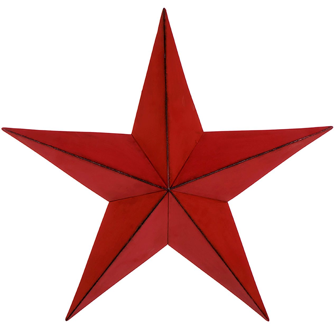 21in Red Metal Star At Home Metal Stars Christmas Wall Decor Affordable Christmas