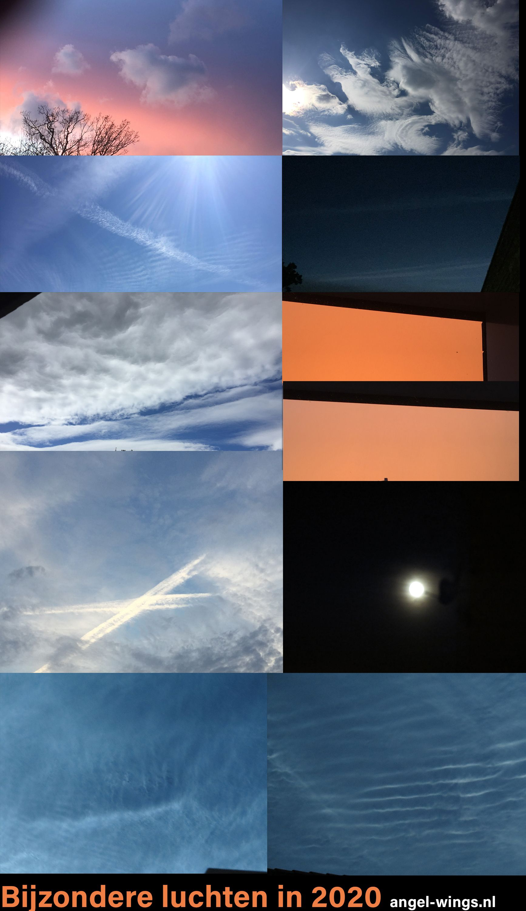 Chemtrail geoengineering lucht 2020 Angel-Wings
