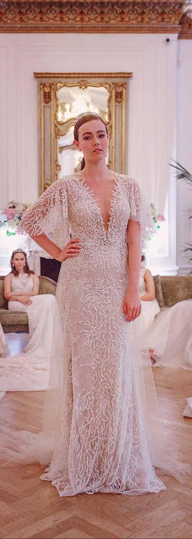 Excelente Berta Trajes De Novia Molde - Colección de Vestidos de ...