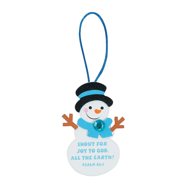 Christmas ornament craft kit - Shout For Joy Christmas Ornament Craft Kit Orientaltrading Com 4 99 12kits