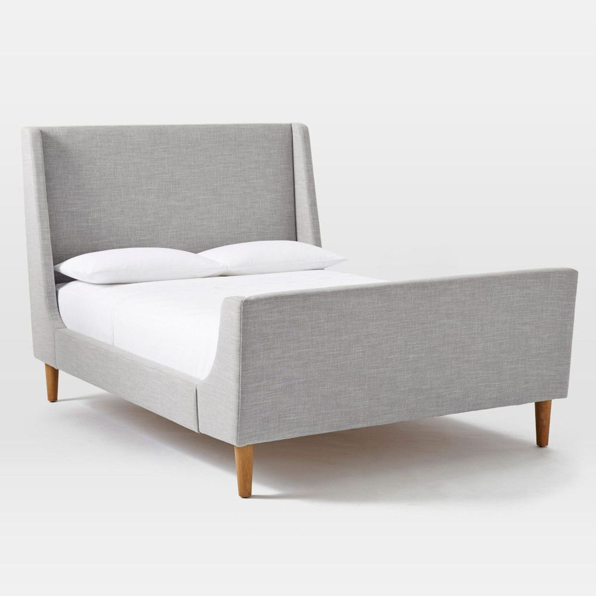 Upholstered Sleigh Bed £899 | Favorite Places & Spaces | Pinterest