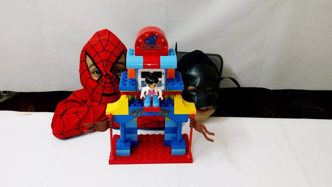 العاب مكعبات للاطفال لعبة تركيب المكعبات اكبر لعبة مكعبات Spider Man Spiderman Character Batman