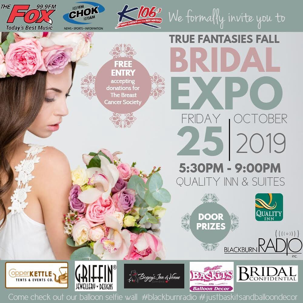Catch Chase March Dj Services At The Truefantasiesbridalexpo Tomorrow In Sarnia Make Sure You Come By My Booth And Say Hi Bridal Expo Good Music Wedding Dj