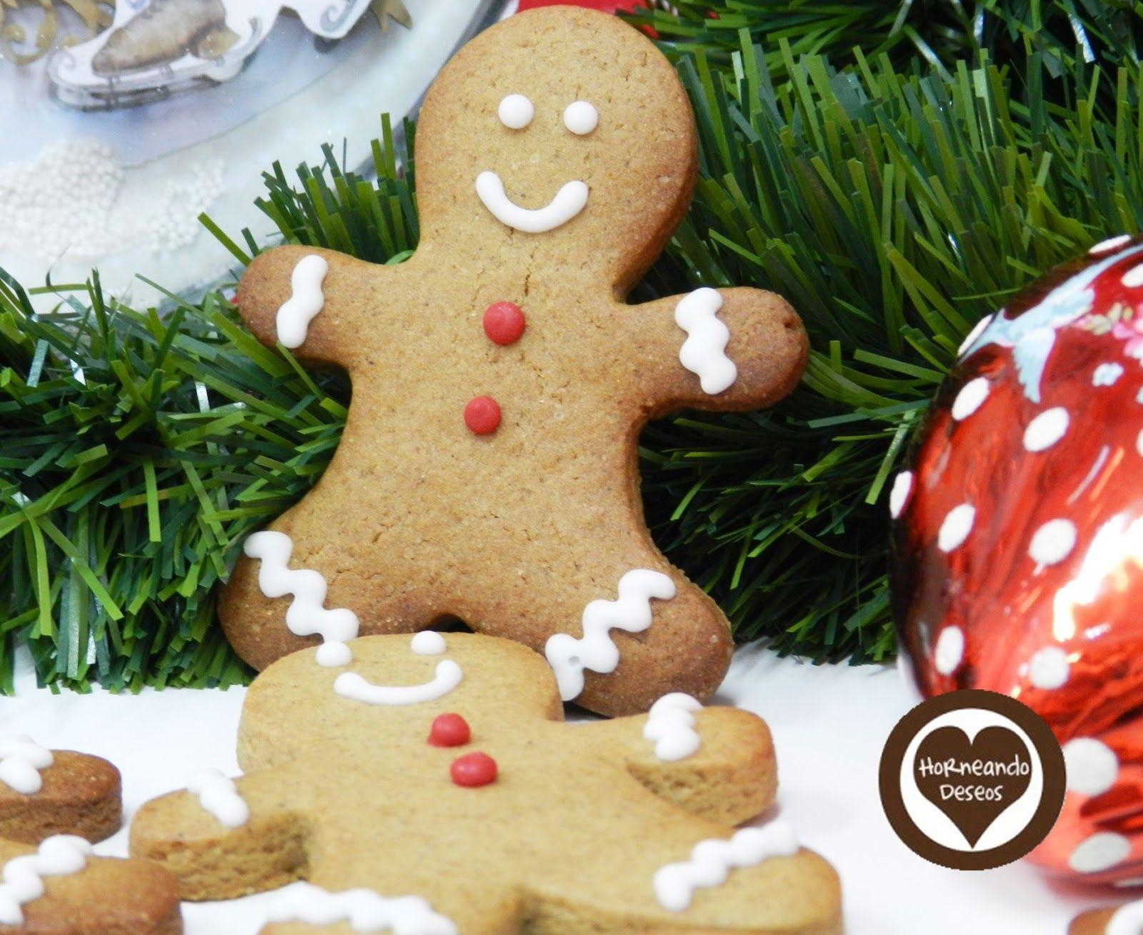 horneando deseos: Receta auténtica de galletas de jengibre