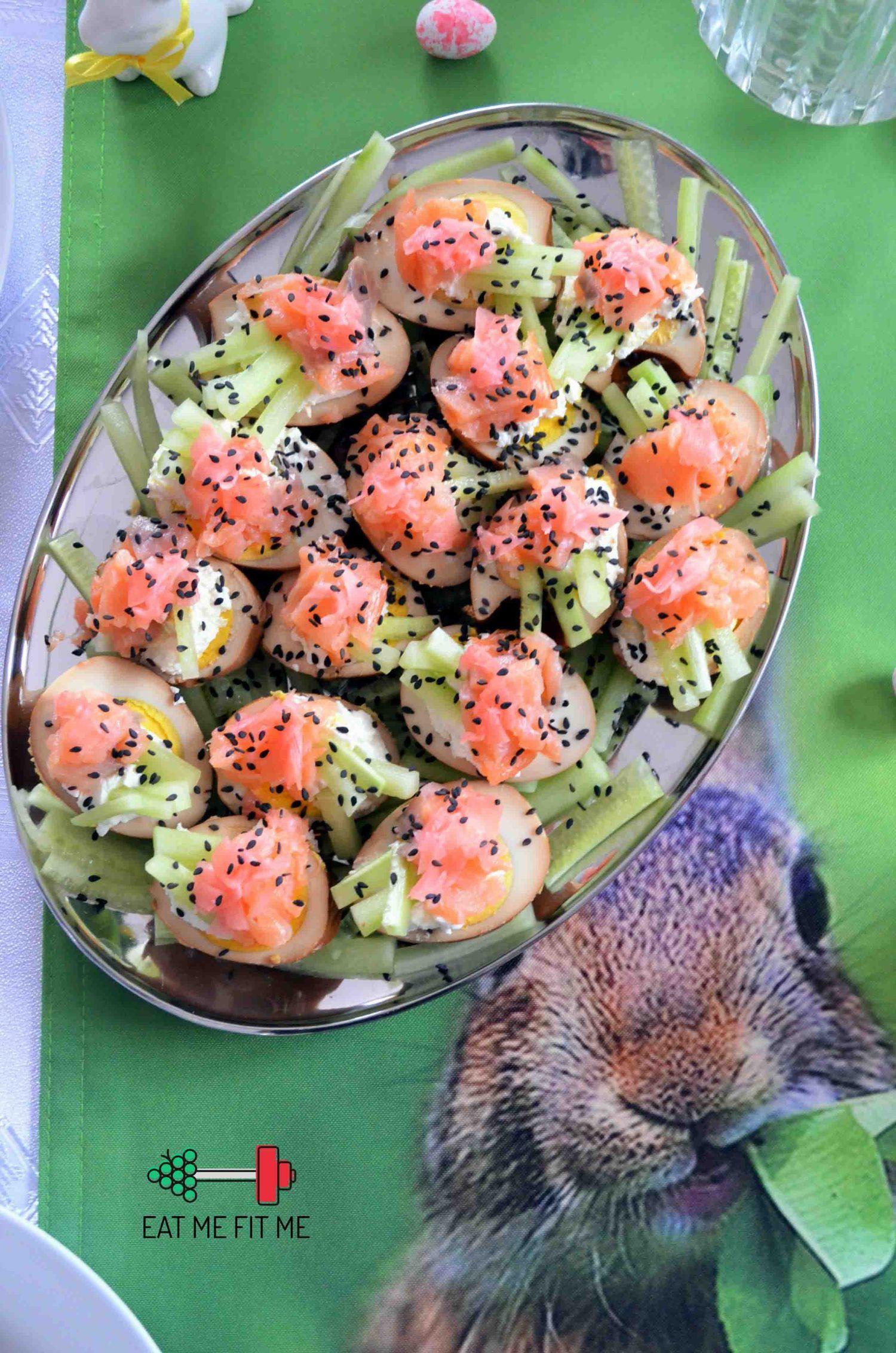 Jajka a'la sushi czyli przepis na jajka wielkanocne