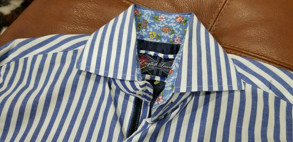 English Laundry Men S Size S Cotton L S Dress Shirt Fashion