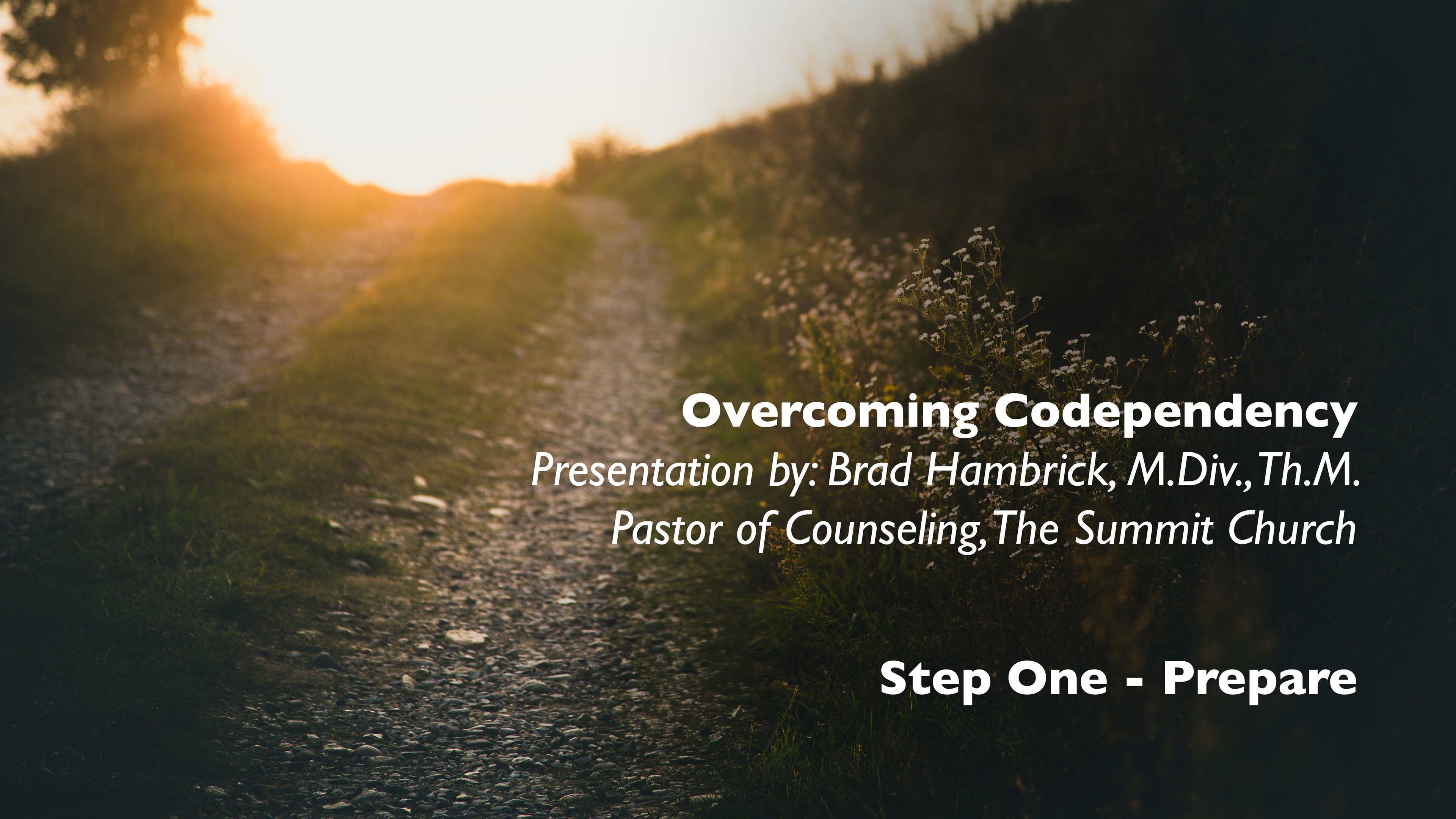 Overcoming Codependency