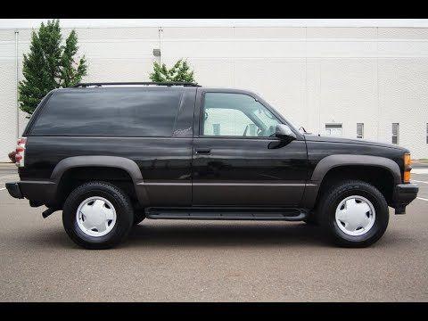 1997 Chevrolet Tahoe 2 Door 5 7l Sport 4wd Barn Doors Chevrolet Tahoe Chevy Suburban Chevrolet Suburban