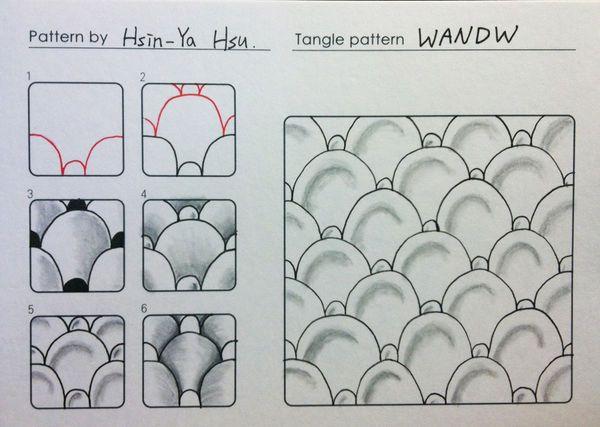 Wandw~Zentangle