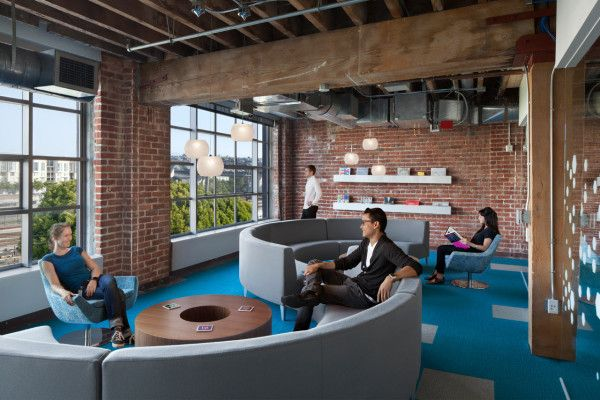 adobe's san francisco digs | adobe, industriale e uffici, Innenarchitektur ideen
