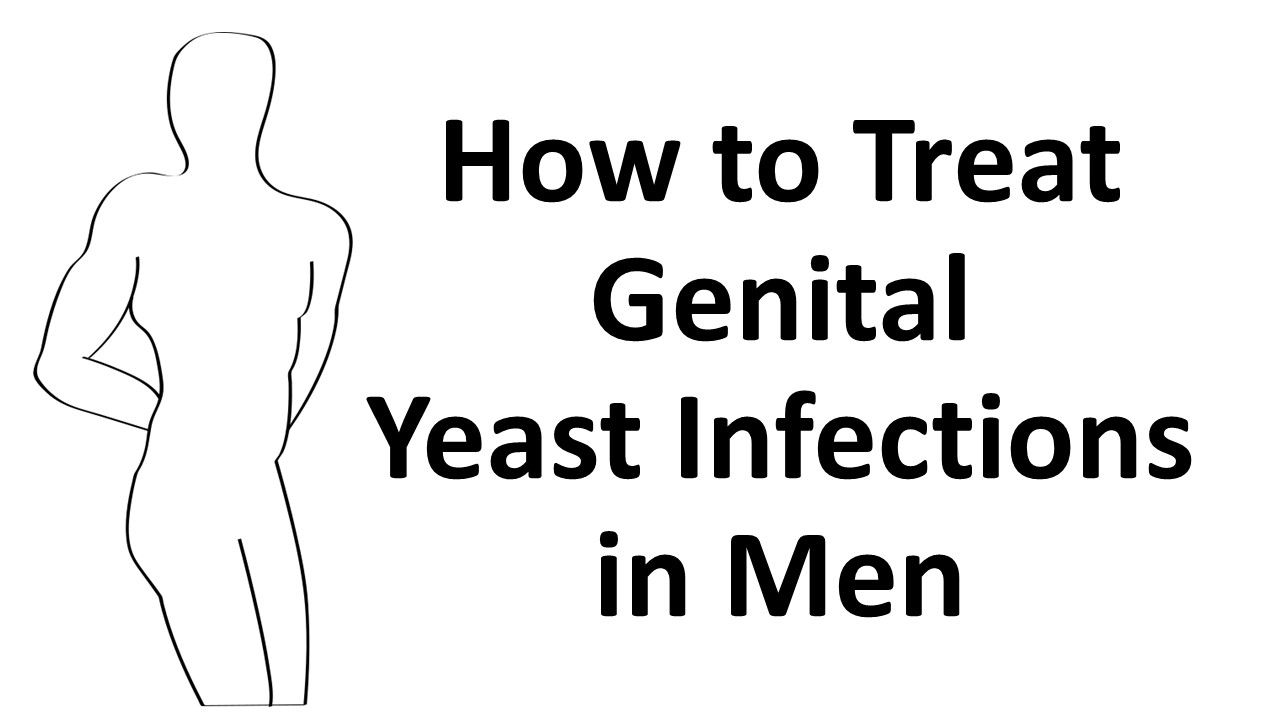 Treatment of candidiasis in men