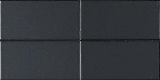 metro subway tile matte black ceramic subway tile 3 x 6 per square foot kitchen. Black Bedroom Furniture Sets. Home Design Ideas