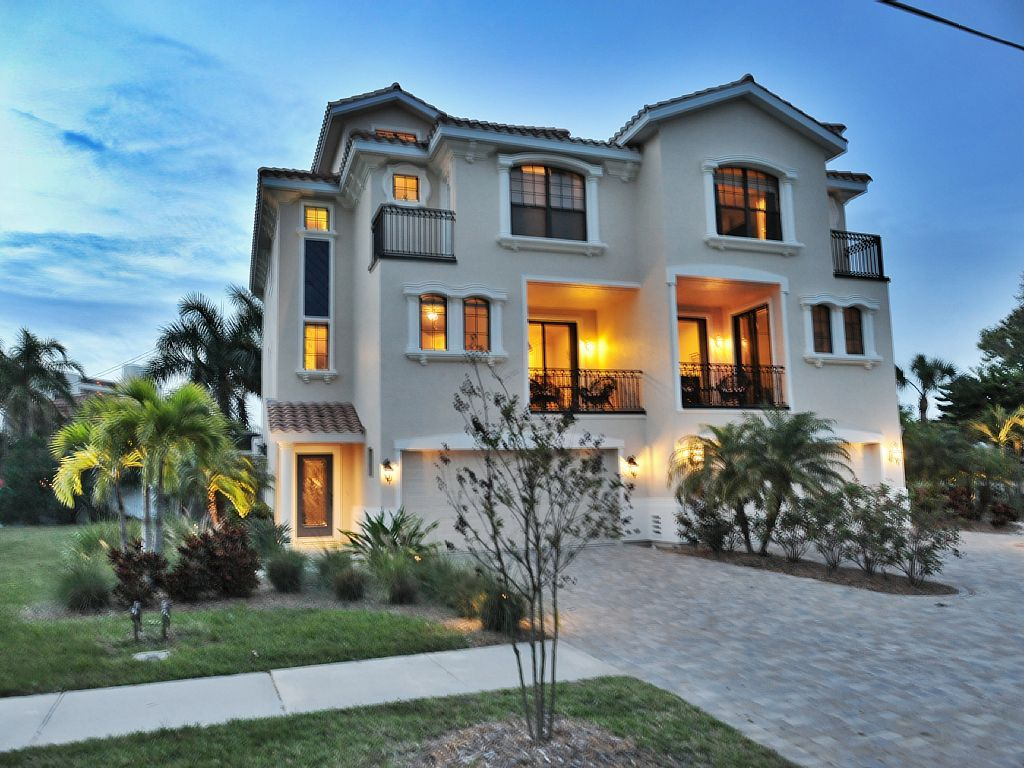 Beach House Rental Siesta Key Part - 36: Siesta Key Villa Rental - Stay At A Luxury 4-story Townhouse Villa With Gulf
