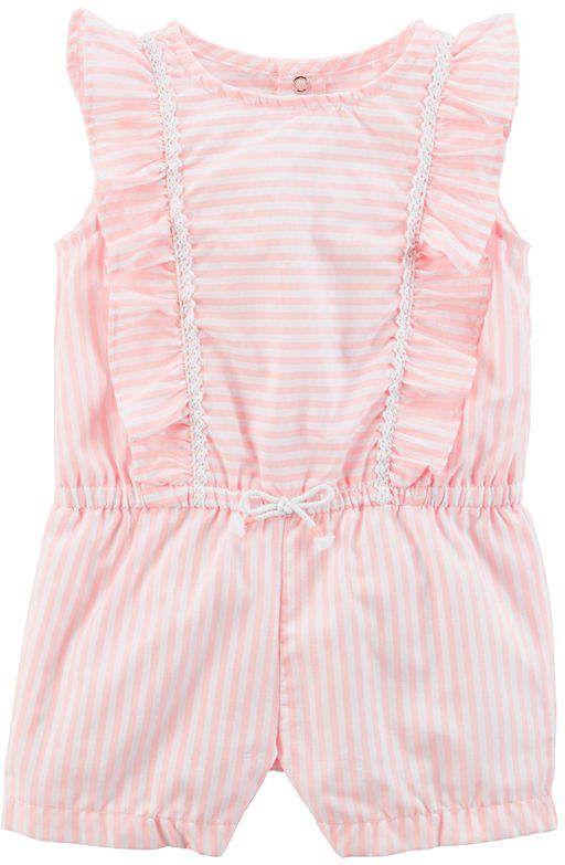 bda643650 Carter s Short Sleeve Romper - Baby  babygirl