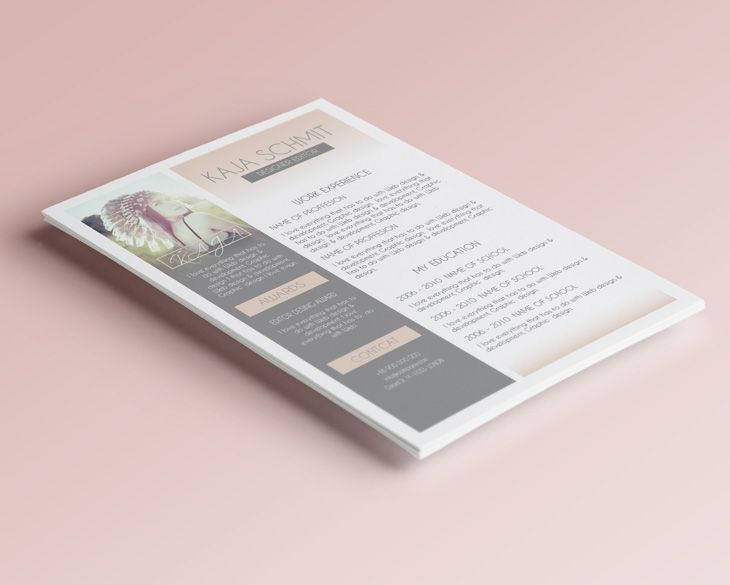 Resume Template Special For Woman, clean simple resumes and some - simple resumes