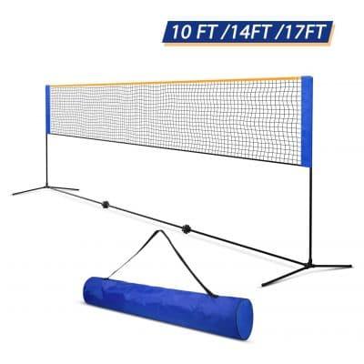 Oriengear Portable Badminton And Tennis Volleyball Net In 2020 Volleyball Net Height Volleyball Net Volleyball