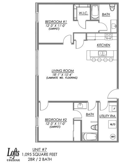 Apartment Unit Floor Plans Floor Plans Amenities Gallery