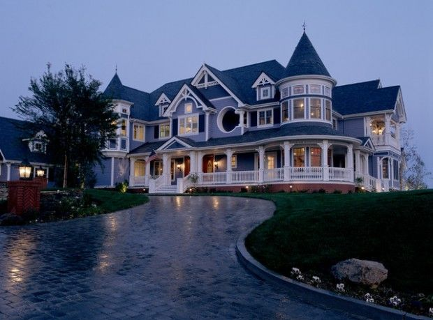 18 Gorgeous Houses In Victorian Style Gorgeous Houses Traditional Home Exteriors Victorian Homes