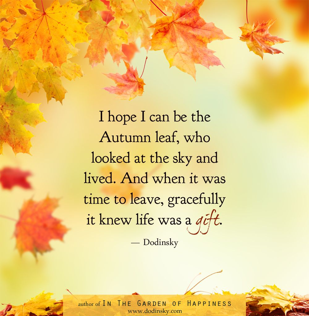 Cute Fall Leaf Quotes