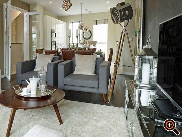 Moderne Wohnzimmer Einrichten   Ideen, Deko, Wandbilder U0026 Tisch