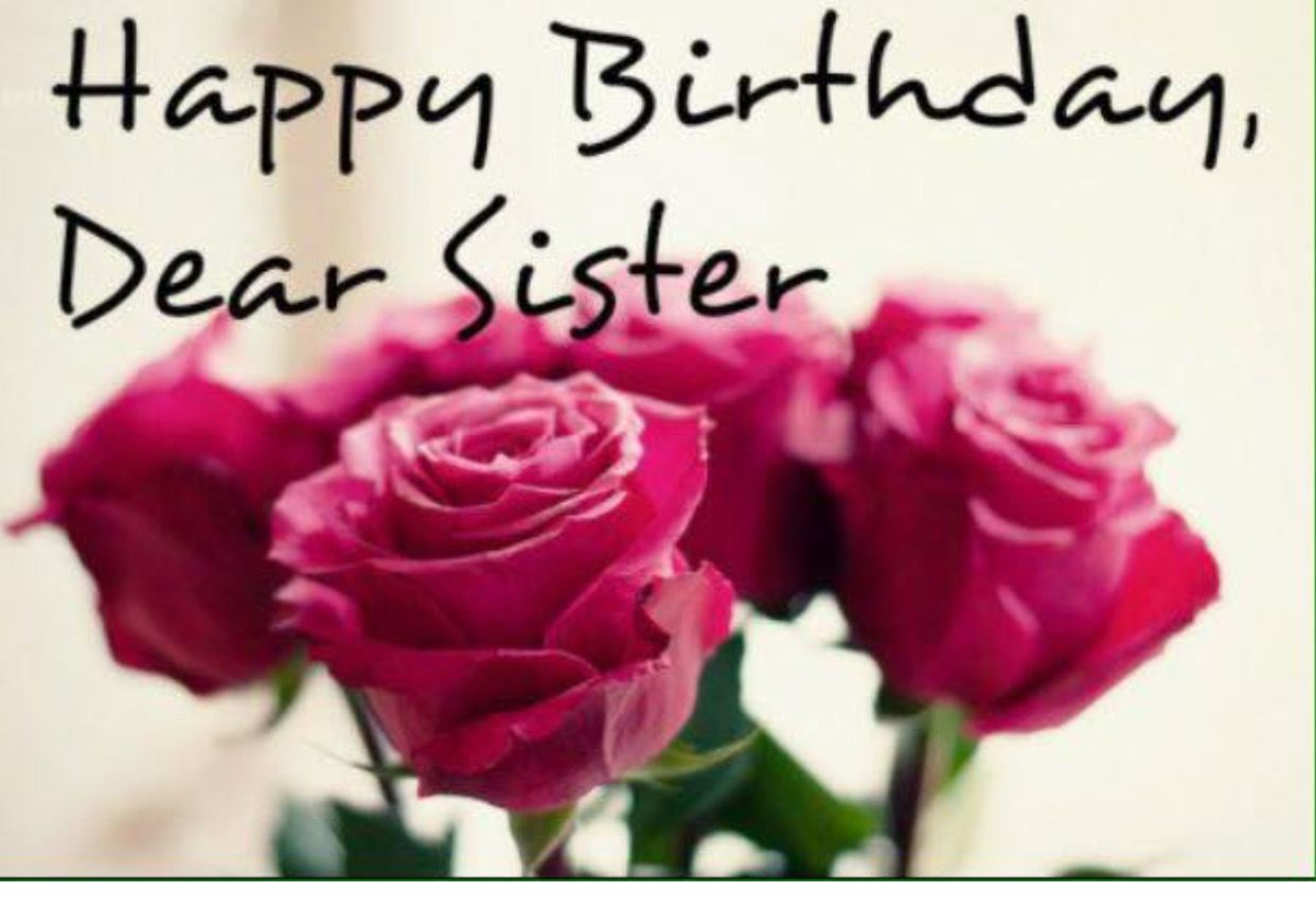 Pin By Liz Nikollaj On Everything Birthday Wishes For Sister