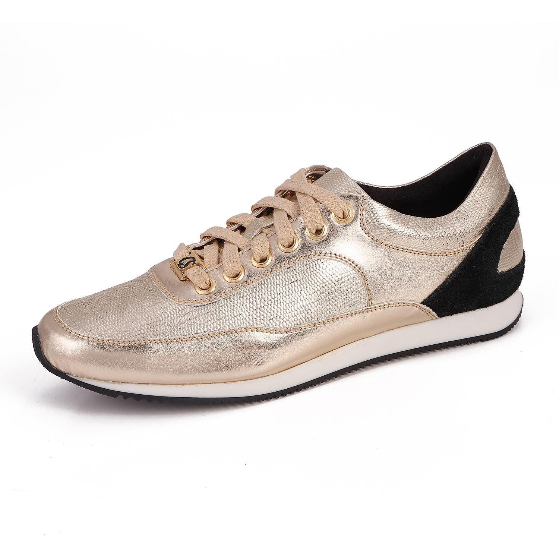 Tênis Fashion Ouro