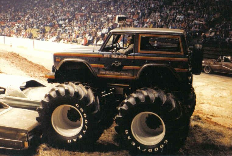 Vintage Monster Trucks Old School Monster Truck Photos Pictures