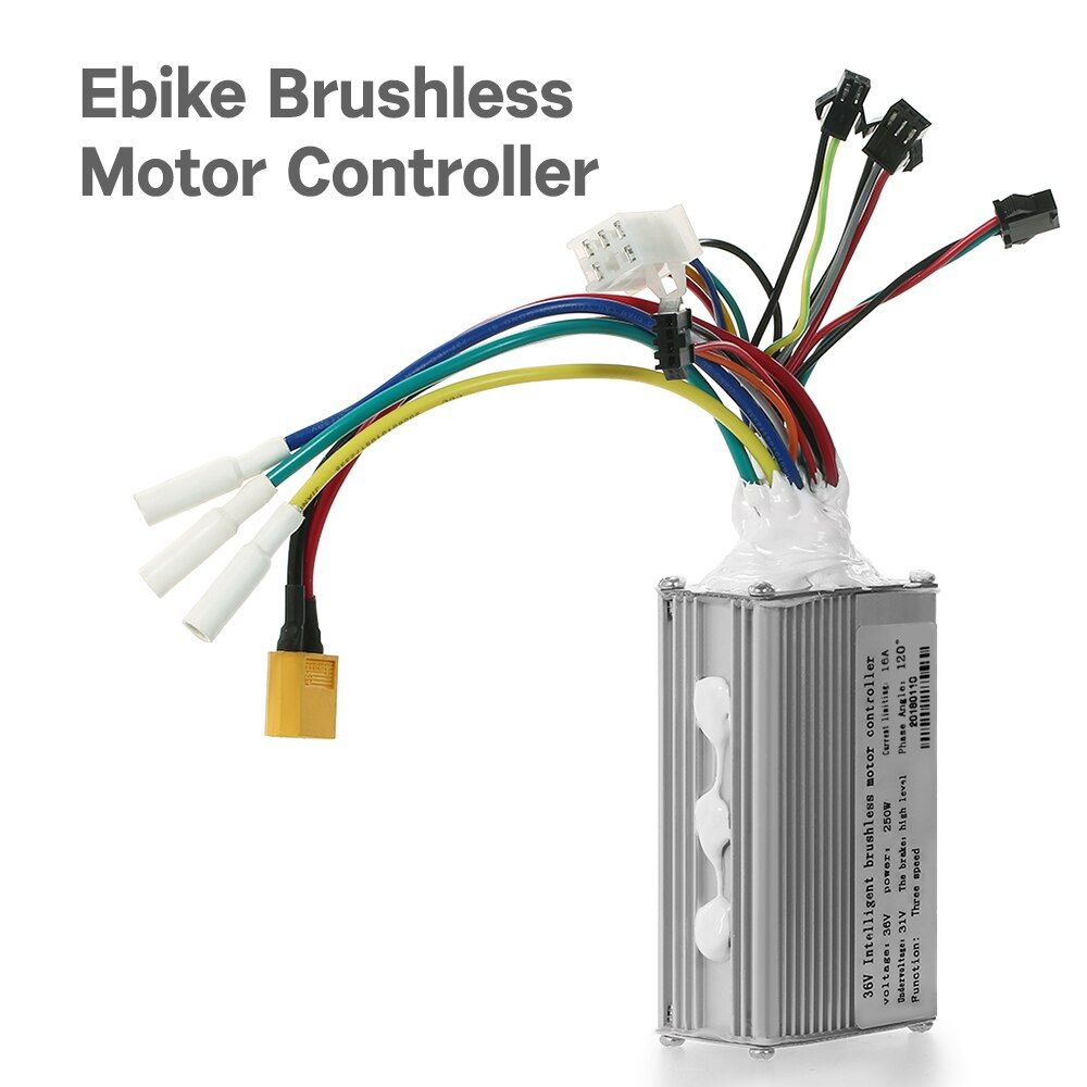 36V//48V 250W or 350W 20A 6 MOSFET Ebike Controller with Regenerative Function