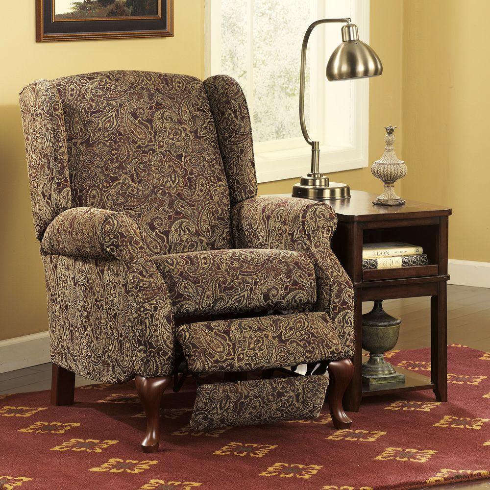 Signature Designs By Ashley Nadior Paisley Print High Leg Recliner |  Overstock.com Shopping   · ReclinersLiving Room FurnitureRoyal ... Part 74