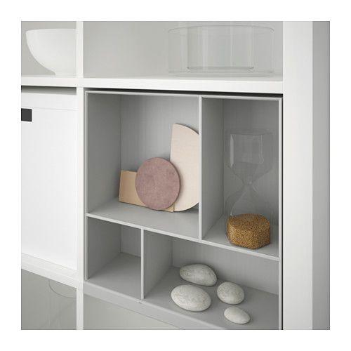 KALLAX Divisorio per ripiano, grigio chiaro Kallax shelf, Ikea