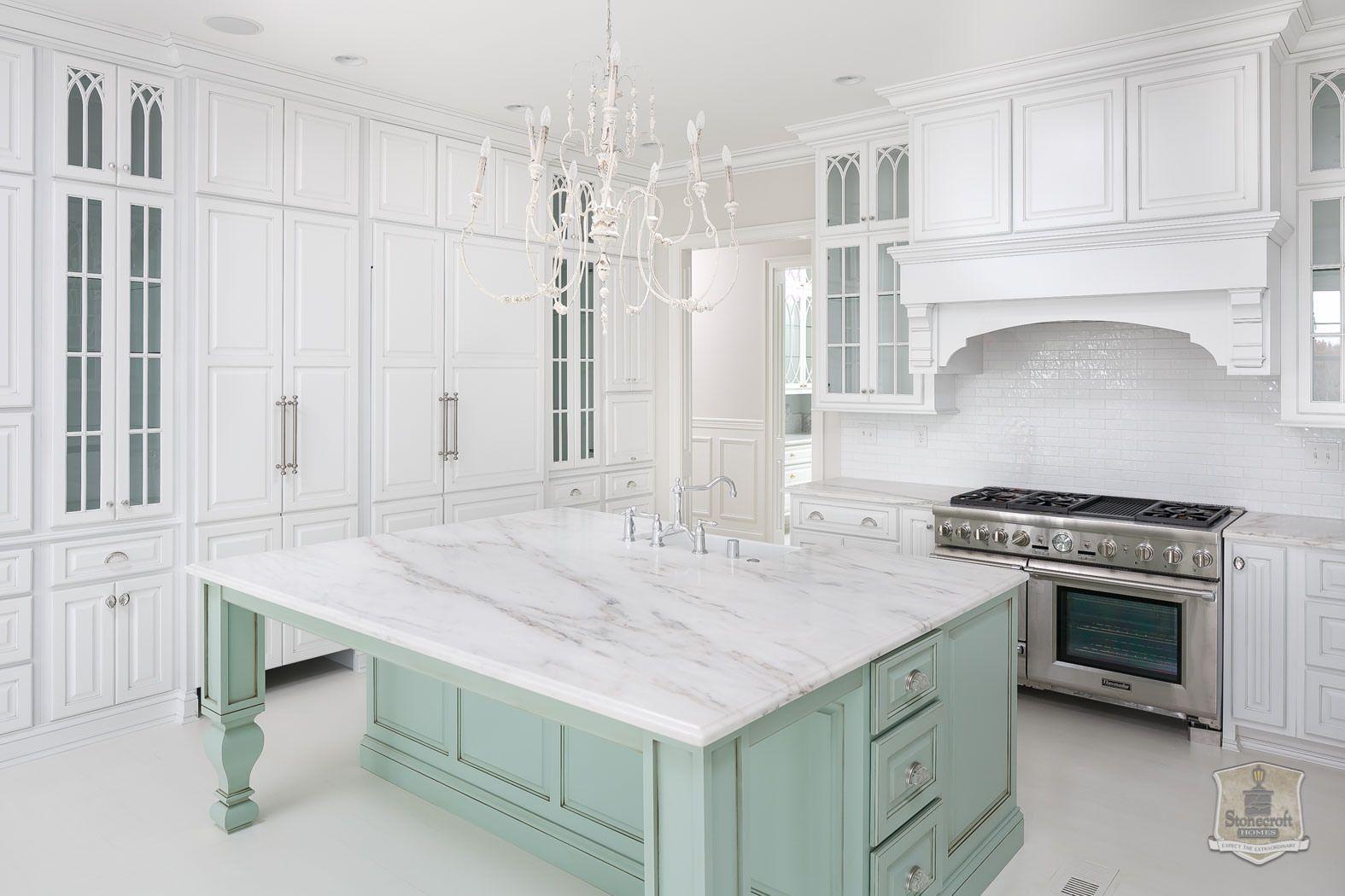 White and Aqua Kitchen Love by StoneCroft Homes (Wicks Nest) | Aqua ...