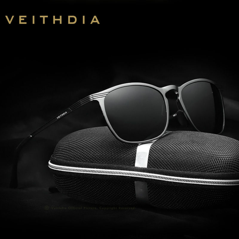 482bc1250e5 Veithdia Aluminum Men s Polarized Sunglasses Uv400 Eyewear Driving Sun  Glasses