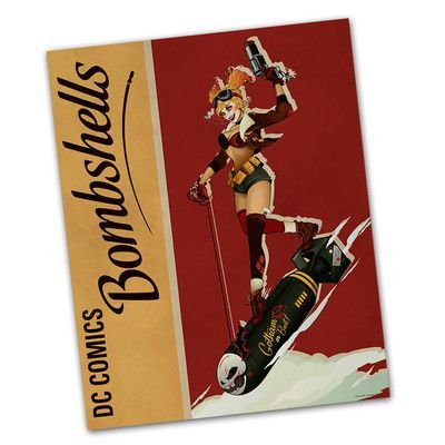 Picture it on Canvas 'Harley Quinn Bombshell Gotham City' Graphic Art on Canvas