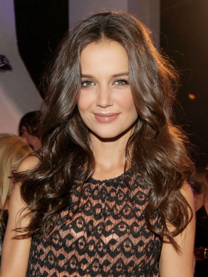Rich Satin Brown Hair Color Google Search Katie Holmes Hair