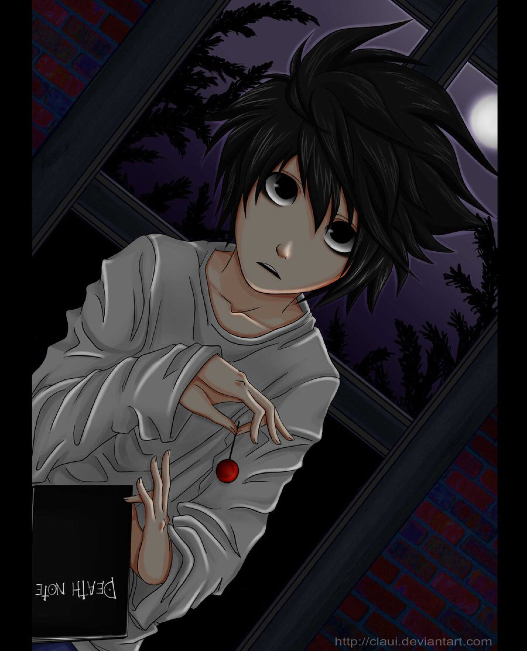 Lawliet of deathnote by claui on deviantart death note l