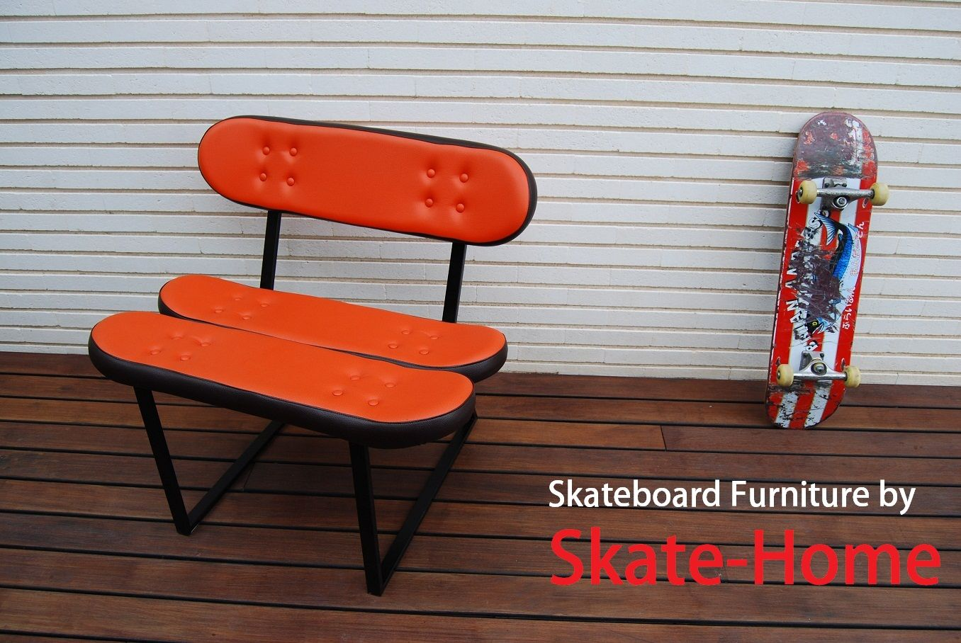 Skateboard Furniture by Skate-Home. www.skate-home.com ...