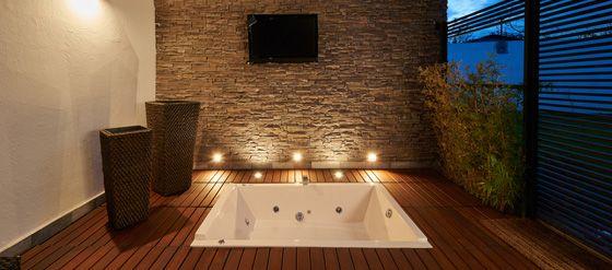 emejing deco salle de bain bambou bois ideas lalawgroup us - Sol Salle De Bain Bambou