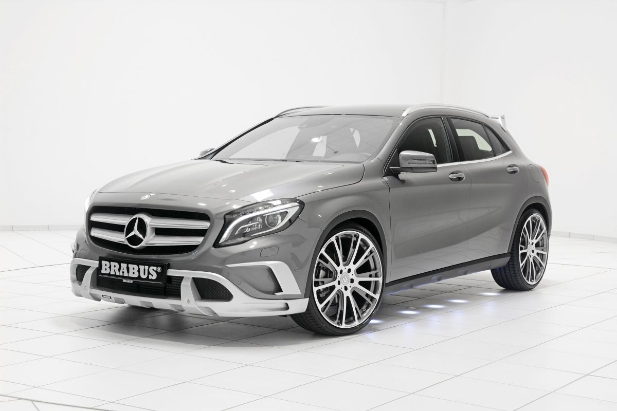 Brabus Works Their Magic On The New Mercedes Benz Gla Class