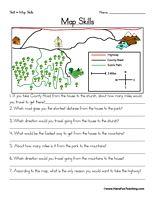 social studies worksheets pinterest map skills worksheets and social studies. Black Bedroom Furniture Sets. Home Design Ideas