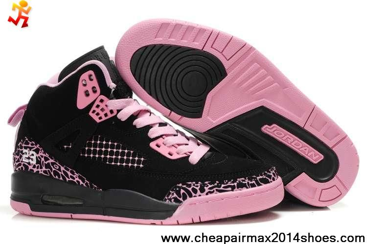 Cheap Women Air Jordans 3.5 Embroidery Black Pink Sports Shoes Store