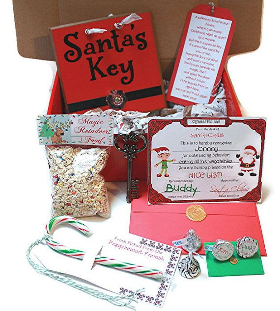 personalized christmas eve box letter from santa by ourmomstouch