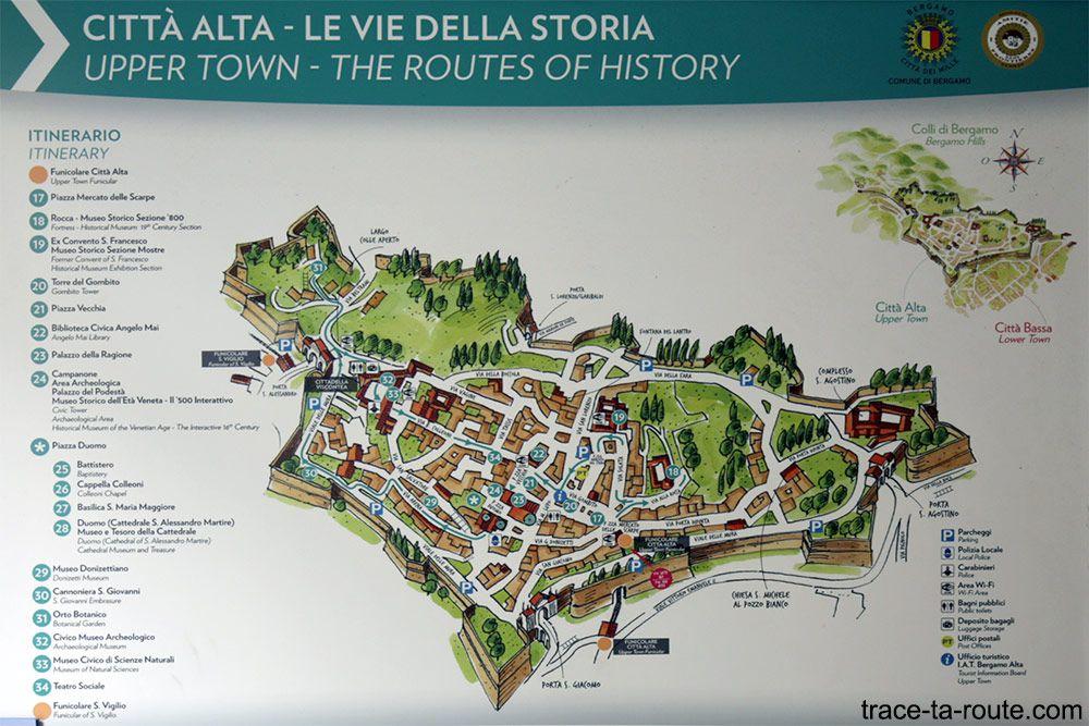 BERGAME Et Sa Citta Alta Medievale