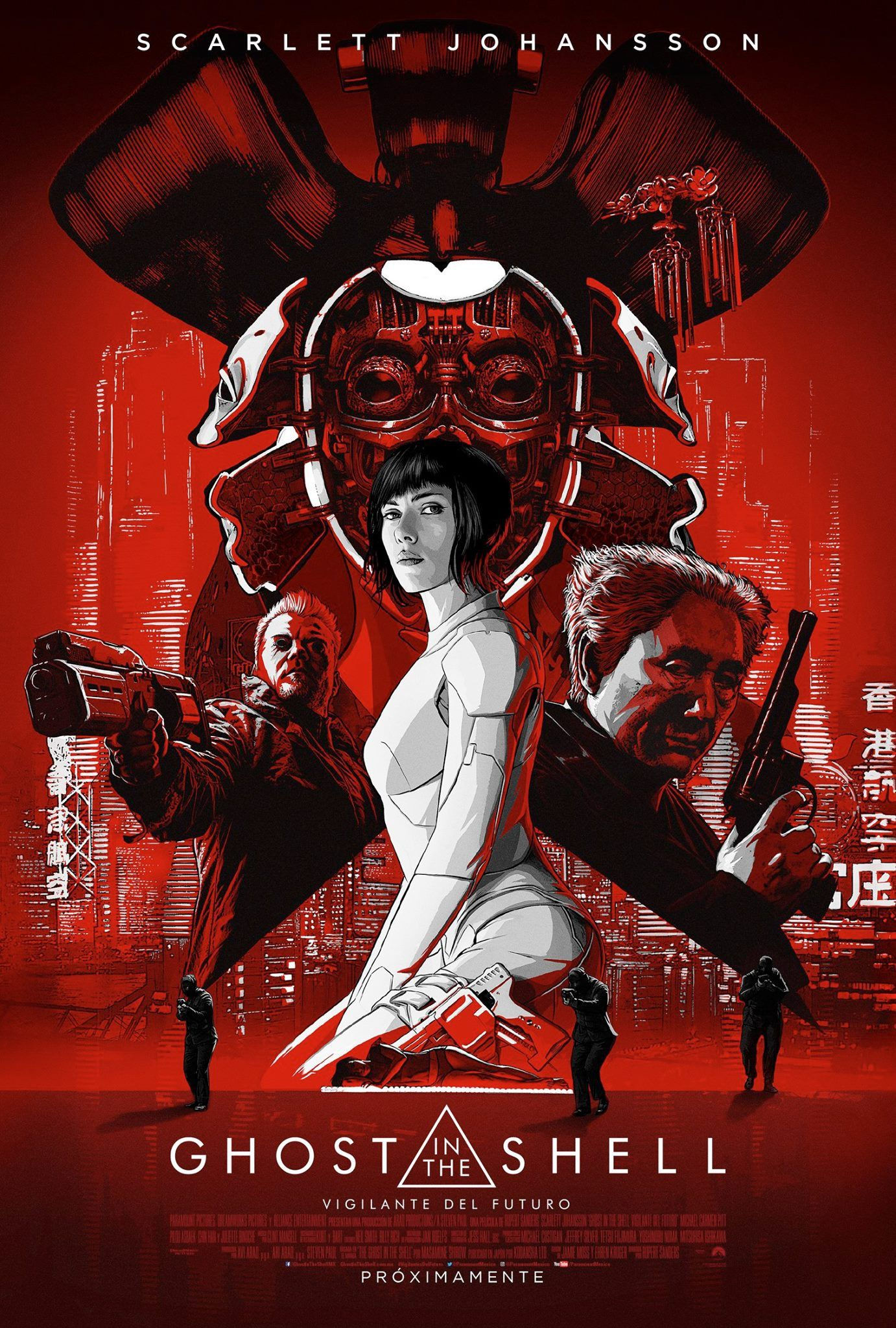 Ghost In The Shell 2017 1382 X 2048 Wallpaper Background For