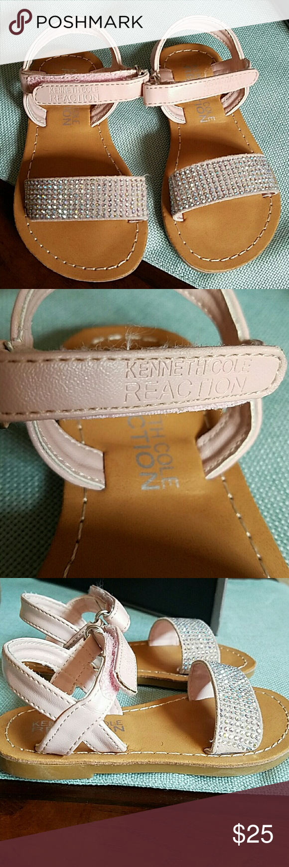 Kenneth Cole toddler girl sandals Super cute sandals for your little one! These are new with thags or box. Kenneth Cole Shoes