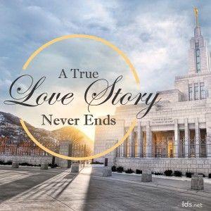 "Love Stories. Beyond ""Til death do us part"" ~ families are forever  #TempleThursday"